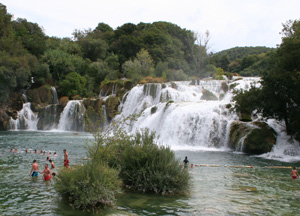 Nationalpark Krka in Kroatien